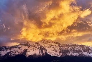 Summer Storm on Wilson Peak