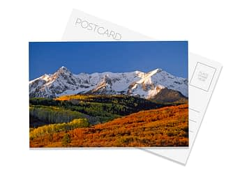 Colorful Colorado Postcard