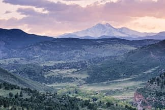 Longs Peak and Hall Ranch
